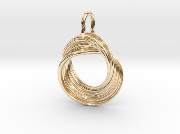 Emma in 14K Yellow Gold