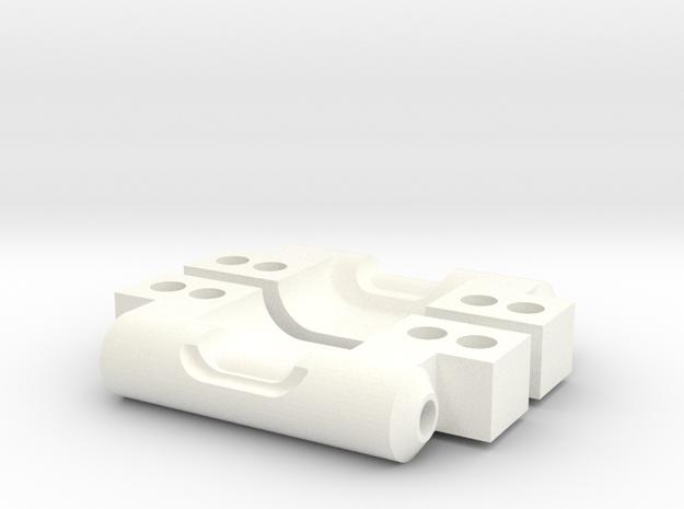 NIX63601 Rear Arm Mounts for RC10 (0deg/0deg)