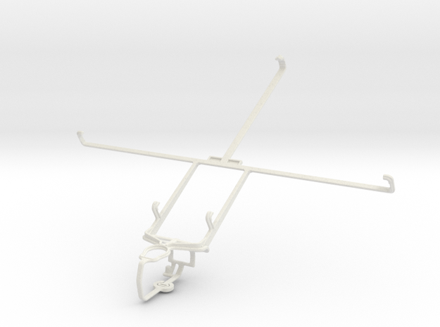 Controller mount for PS3 & Acer Iconia Tab A510 in White Natural Versatile Plastic
