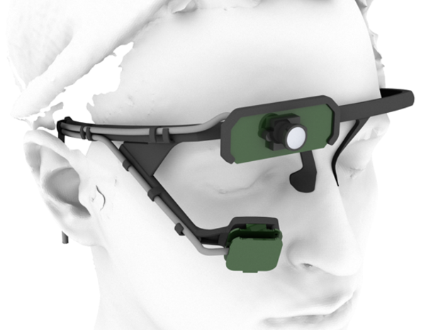 Pupil mobile eye tracking headset