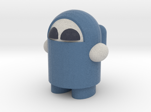 """""""boOp"""" the Robot 3d printed"""
