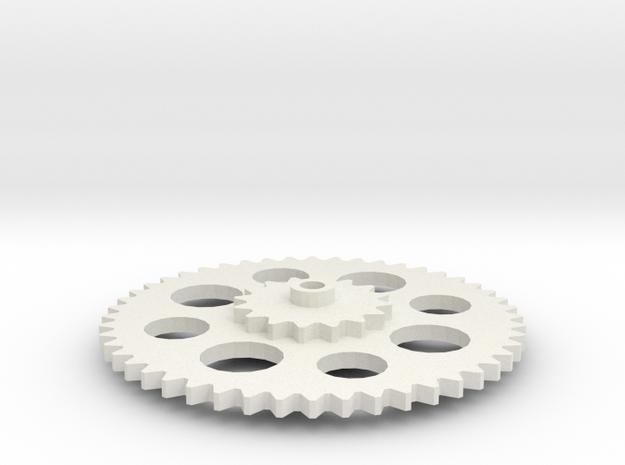 Gear1 2015 23 57 Gear1 in White Natural Versatile Plastic