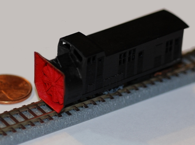 Railroad Snow Plow - Zscale