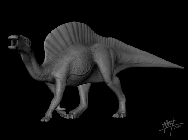 Ouranosaurus 1/72 3d printed