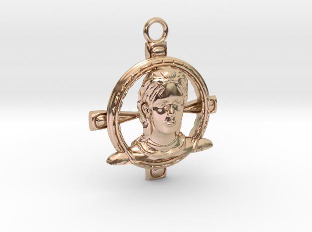 Jehanne Darc pendanttop in 14k Rose Gold