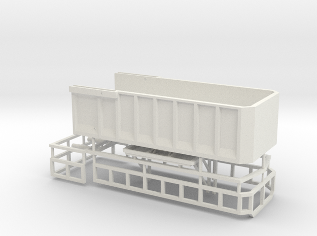 1/64 AS20 grain/silage bed in White Natural Versatile Plastic