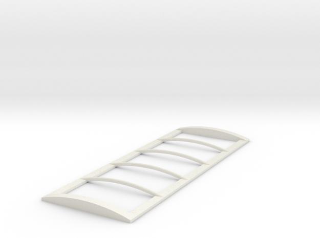 1/64 22' Tarp frame in White Natural Versatile Plastic