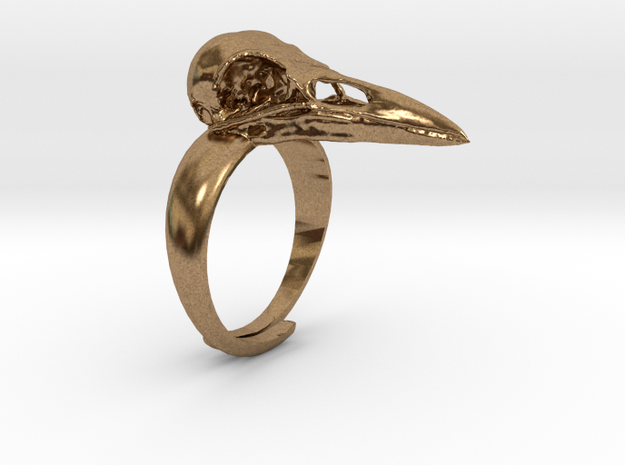 Crow Ring With Logo