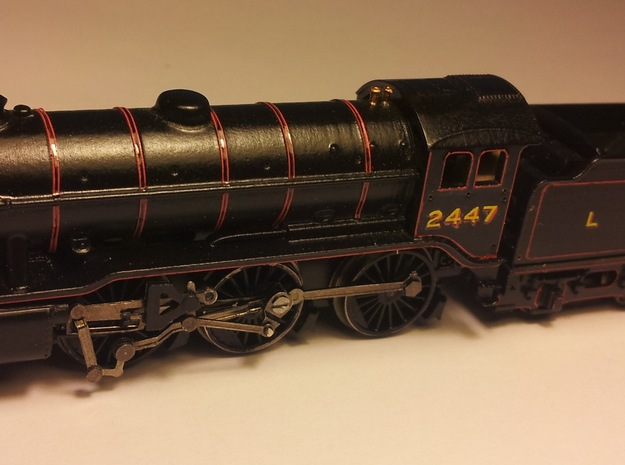 LNER K3 and GST Body Shell in Smoothest Fine Detail Plastic