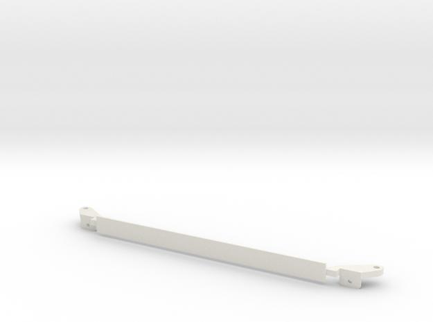 DomstrebeSTL in White Natural Versatile Plastic