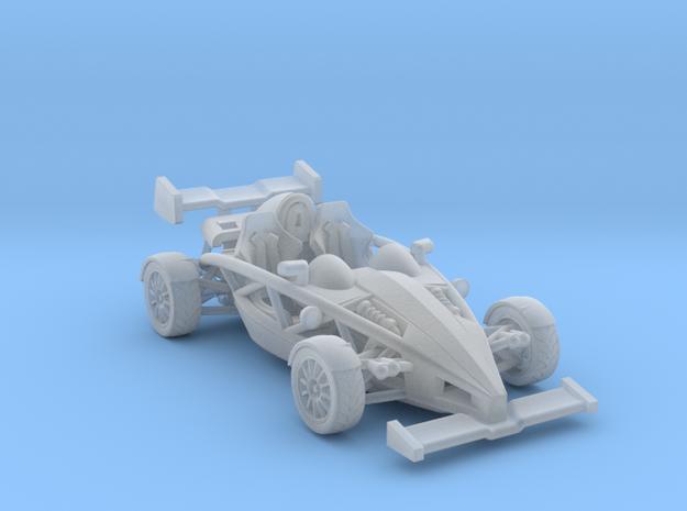"""Atom HO scale model w/wings 1.7"""" RHD in Frosted Ultra Detail"""