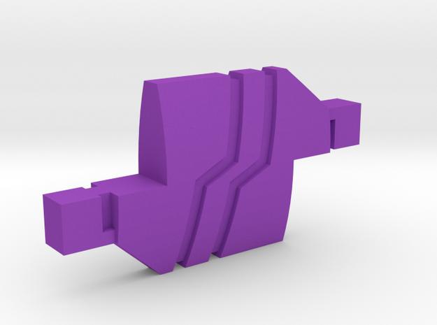 SG-1 Replicator in Purple Processed Versatile Plastic