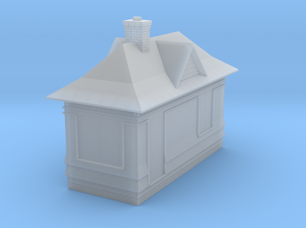 CNR Tool Shed (N Scale) in Smooth Fine Detail Plastic