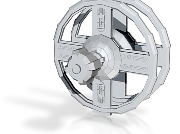 Space Station Wheel 3d printed