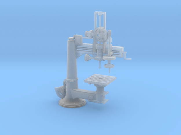 Radial Drill Press O Scale 1/48 in Frosted Ultra Detail