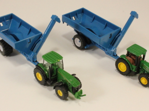 1:160 N Scale Kinze Grain Cart w/ Row Crop Duals 3d printed