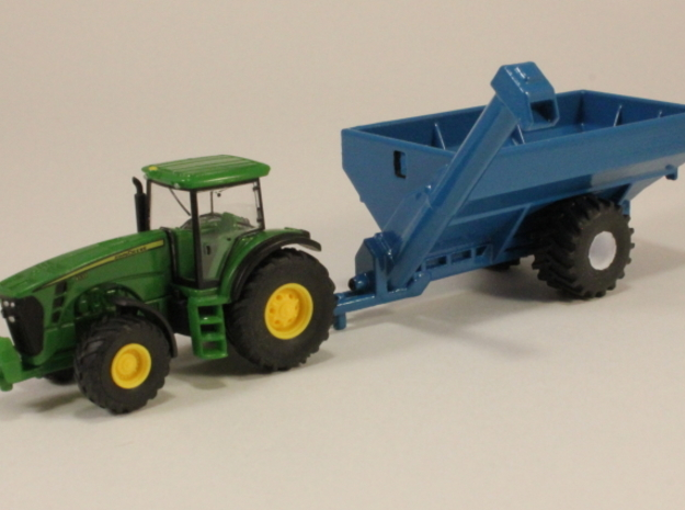 1:160 N Scale Kinze Grain Cart w/ Flotation Tires in Smooth Fine Detail Plastic