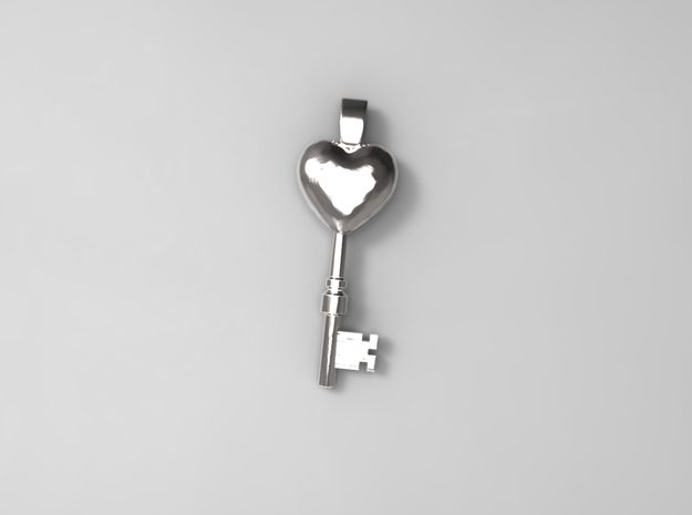 The key to a heart, 004 3d printed 3D Preview Render
