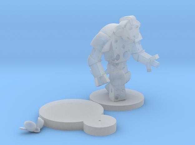 Cheese Golem & Ladybug 3d printed