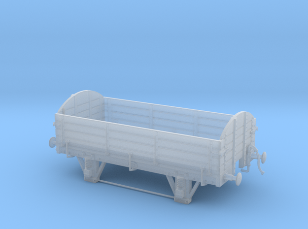 Old-timer freight gondola HO-OO scale