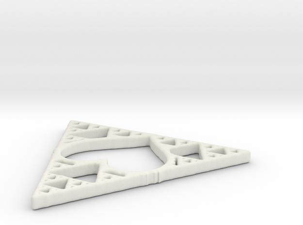 Sierpinski Valentriangle in White Strong & Flexible