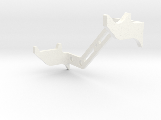 DL44 Wall Stand in White Processed Versatile Plastic