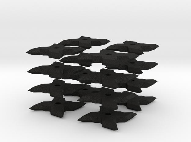 1:6 Scale Chisel shuriken ninja star 3d printed