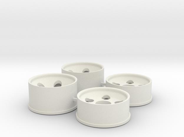 0.5 Offset in White Natural Versatile Plastic