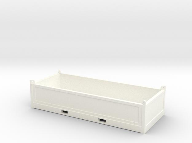 Offshore basket - Half Height GC in White Processed Versatile Plastic