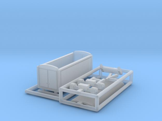 Packwagen 6,5 m - 1:220 (z scale) 3d printed
