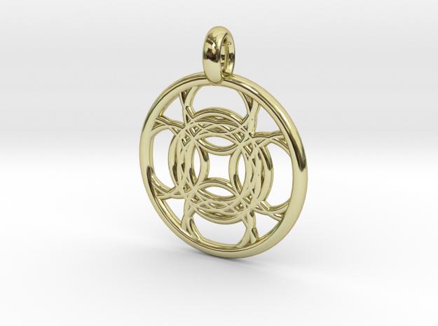 Kallichore pendant 3d printed