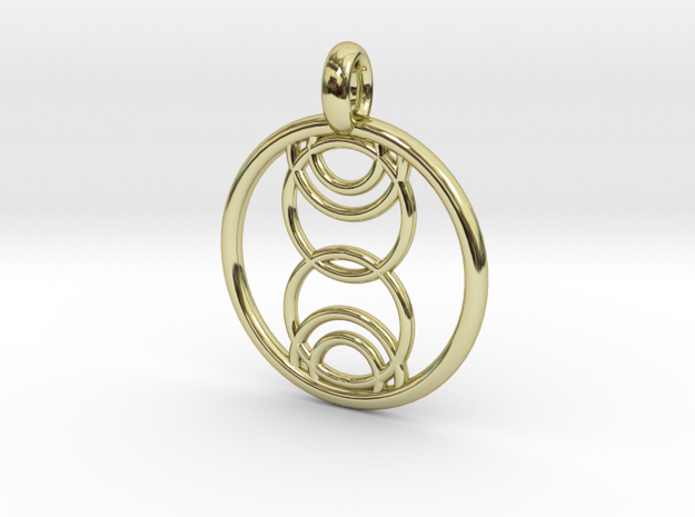 Kore pendant in 18K Gold Plated