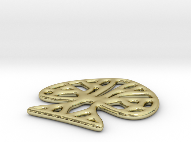 Ace Of Spades Pendant / Earring 3d printed
