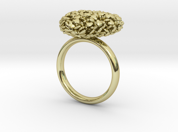 365 Hearts Ring 3d printed