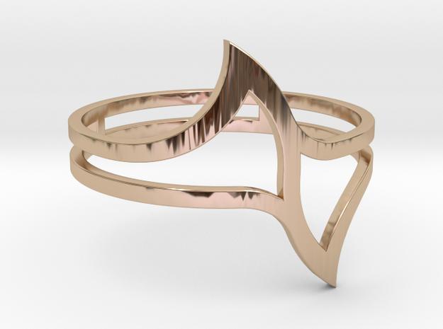 Ring Model E - Size 6 - Gold