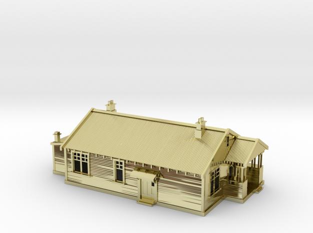 StationMastershouse 1:120 3d printed