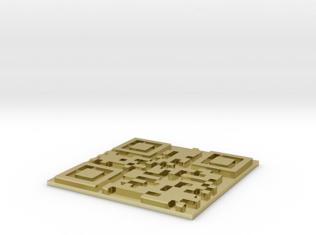 uplink.to QR 3d printed