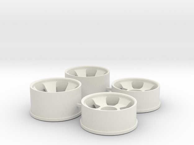Ver2 0.5 Offset in White Natural Versatile Plastic