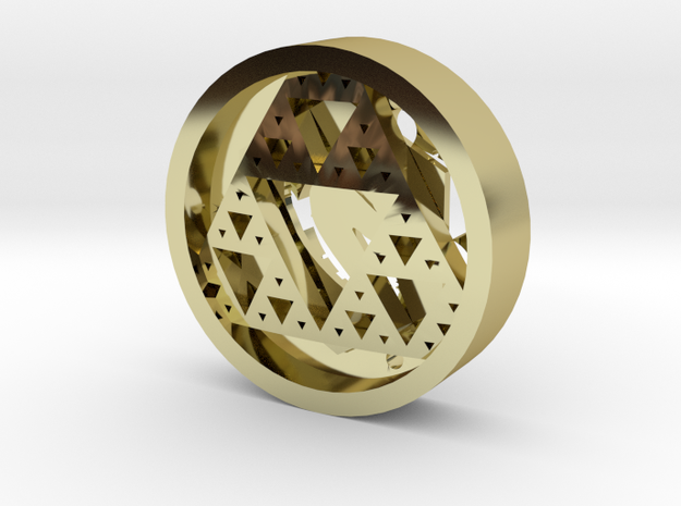 CarolCoin3WithInsert 3d printed