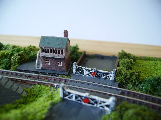 Signal Box in Frosted Extreme Detail