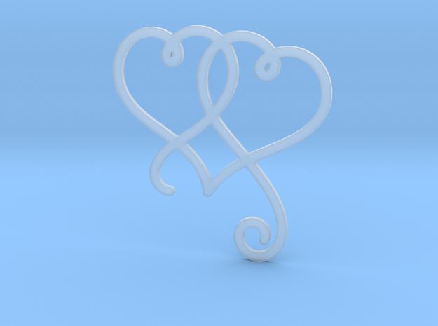 Linked Swirly Hearts (Thin)