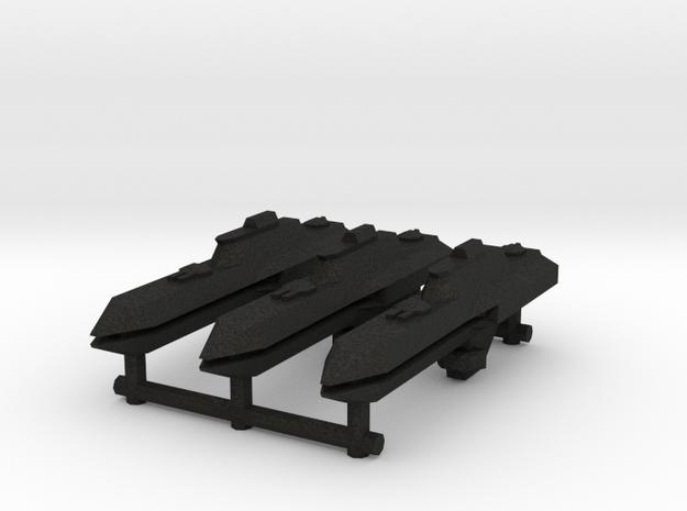 NuBlazers Svenish Frigate Group - Fleetscale 3d printed