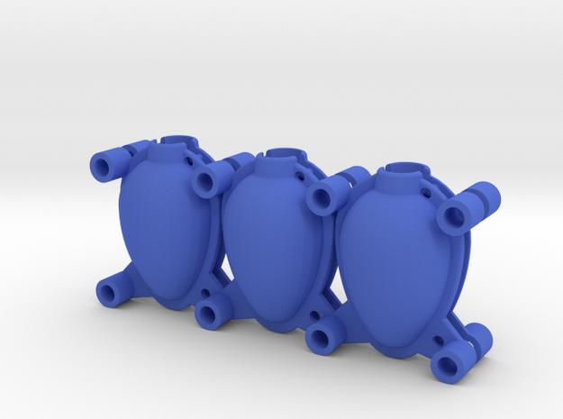 Egg Mold 3x45mm in Blue Processed Versatile Plastic