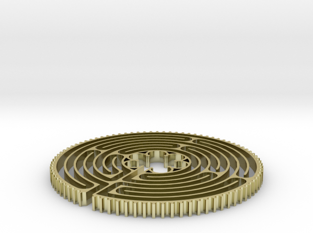 Small finger labyrinth 3d printed