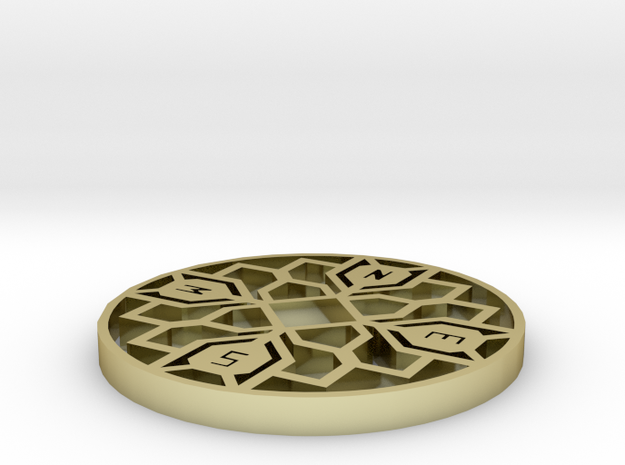 compass 2a 3d printed