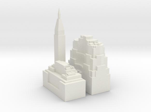 NewYork-sample01 in White Strong & Flexible