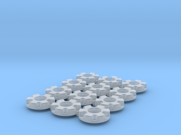 1/64 Wheel Weights Inner (12 Pieces) in Frosted Ultra Detail