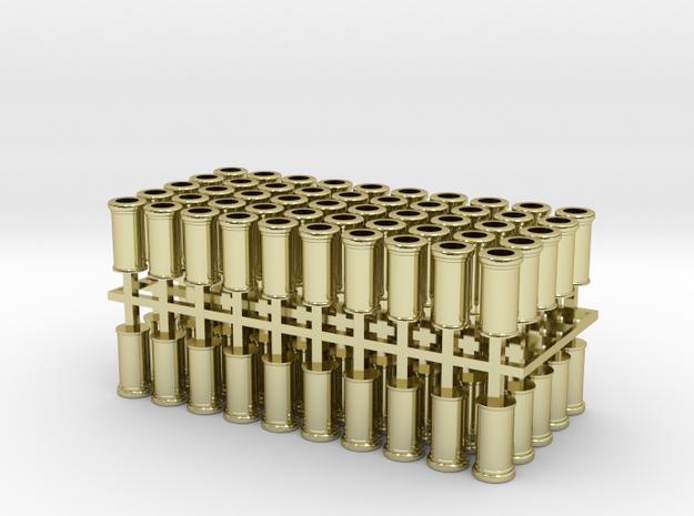 Chimney Pots 4mm Plain Roll Tops 100 3d printed
