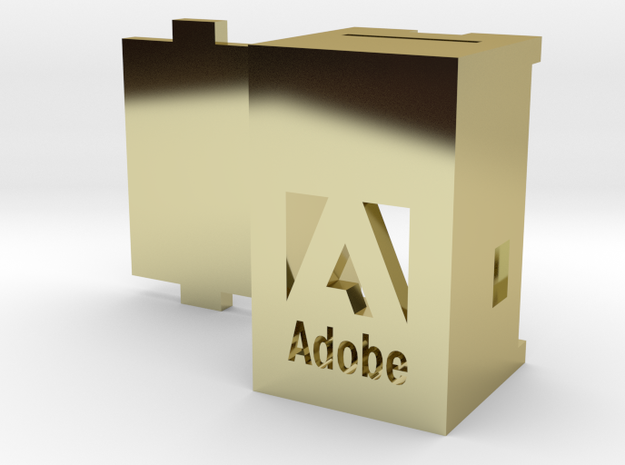 Adobe Logo USB Wireless RGB Lamp 3d printed