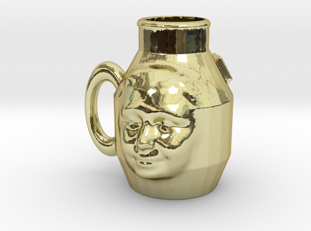 Cup with Face 3 3d printed